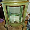 Old Glass Curio Cabinet