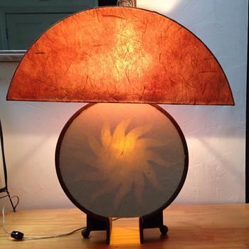 My heavy round mystery Lamp
