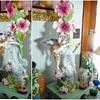 Art Nouveau FAIRY LADY French Majolica Vase