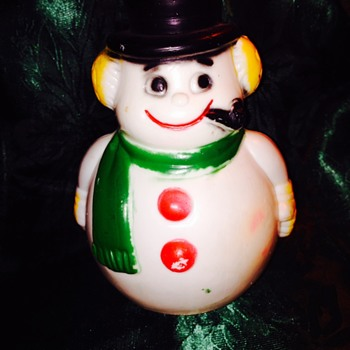 Snowman Baby Toy! - Toys