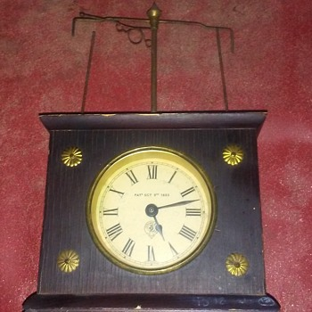 1883 HOROLOVAR CLOCK - Clocks