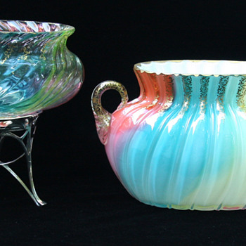 Loetz RAINBOW, cased and uncased - Art Glass