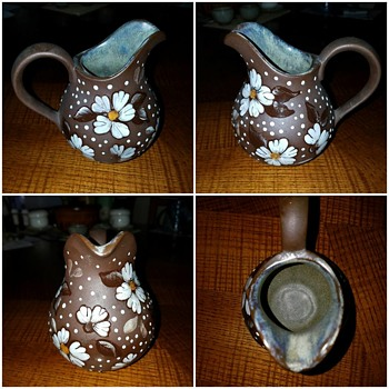 Hand Painted Creamer - Kitchen