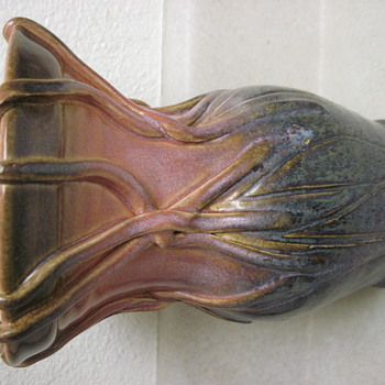 Desperate For Artist ID Of Rookwood Style Arts & Crafts Beautiful Vase Starburst Mark & More-Signed & Numbered - Pottery