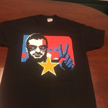 Ringo's personally owned shirt-2001 - Mens Clothing