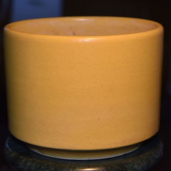 Small Yellow Gainey Planter - Pottery