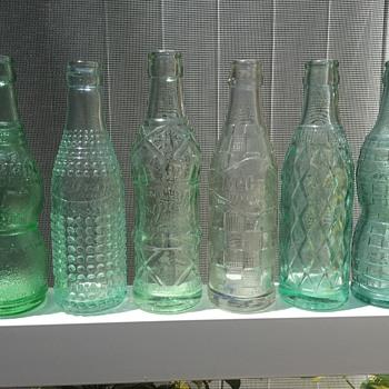 Grape Soda Bottles from the 1920's - Bottles