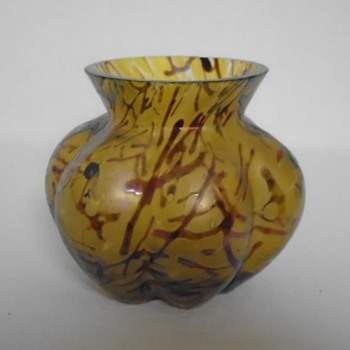 Kralik Bacillus Vase - Art Glass