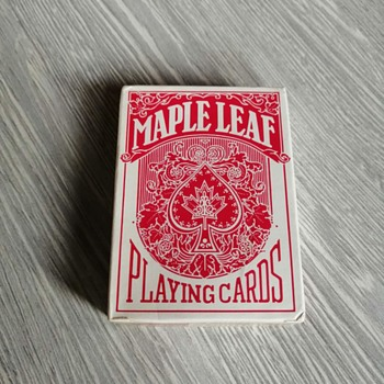 Playing cards Maple leaf - Cards