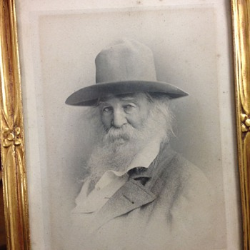 Walt Whitman c-1880 by F. Gutekunst - Photographs