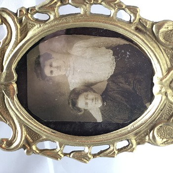 Ladies in Brass Picture Frame - Photographs