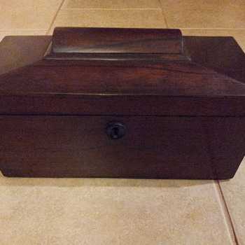 What was this wooden box for?