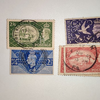 Postage revenue stamps - Stamps