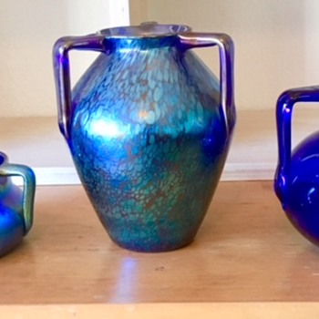 Three handle glass - Color series 2 - Art Glass