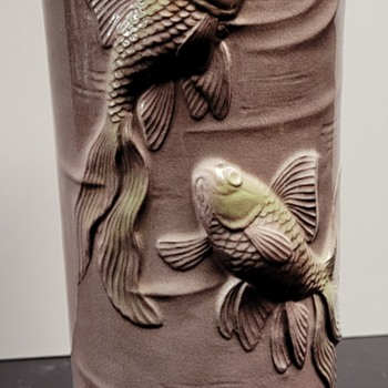 Royal Copley Koi Vase - Pottery