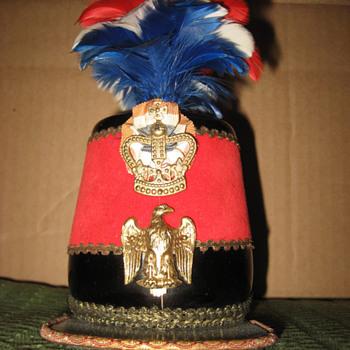 Antique hat container.