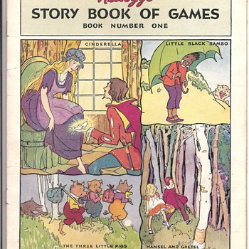 Kellogg Cereal Story Book Games