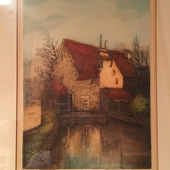 Unknown Signature on Painting - Posters and Prints