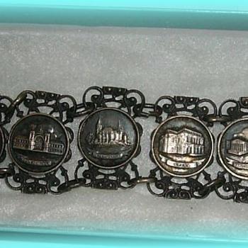 Hungarian ( European ) Metal  Jewelry Bracelet
