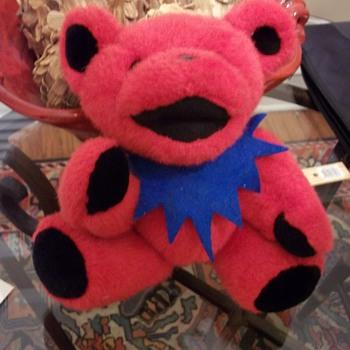 Rare 14 inch Bertha Bear - Music Memorabilia