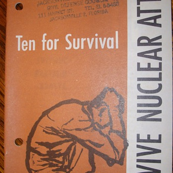Surviving a Nuclear Attack Manuals - Military and Wartime