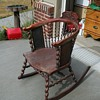 William ans Mary halfback rocking chair