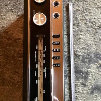 "HMV transistor radio ""Luxembourg "" circ 1966. - Radios"