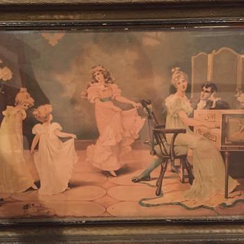 Dancing Girls to Piano Melody
