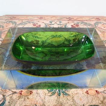 Mandruzzato art glass bowl - Art Glass