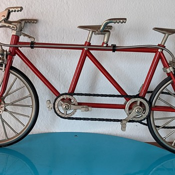 Vintage bicycle toy. - Toys