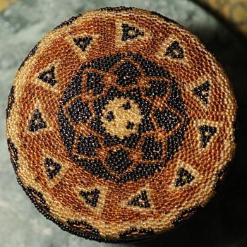 Balinese Beaded Basket