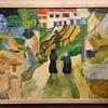 Copy of Van Gogh's L'escalier d'Auvers (Bright Vivid Colors And Well Made)
