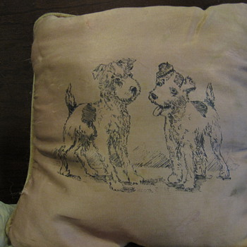 Pillow from my Grandmother - Rugs and Textiles