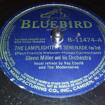 "10"" SHELLAC DISC....#16 - Records"