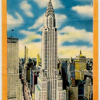 The Chrysler Building, NYC - Art Deco