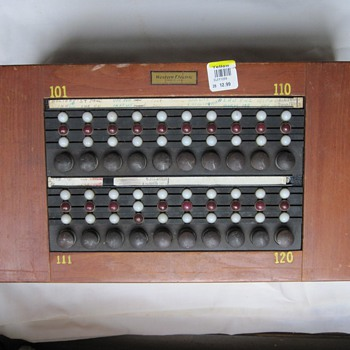 Western Electric Answering Service Switchboard?