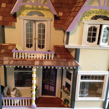 My Victorian Painted Lady Dollhouse Exterior - Dolls