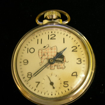 Toppie (Promotion For Top Value) Pocket Watch - Pocket Watches