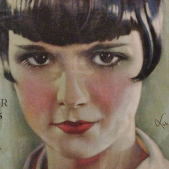Motion Picture Classic Magazine Louise Brooks 1926 - Movies