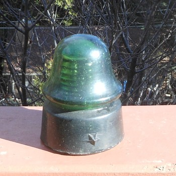 Green Star Insulator CD-162 With Train Smoke 1900-1904 - Tools and Hardware