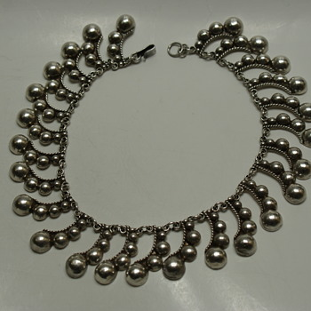 Vintage Necklace made in Mexico - Fine Jewelry