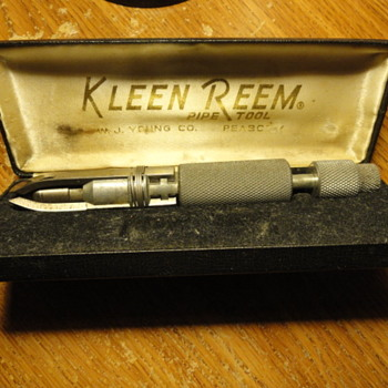 Vintage KLEEN REEM pipe tool, 1950s-60s, original box, W.J. Young Co