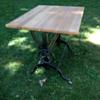 Fredrick Post cast iron drafting table