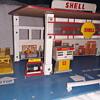 Vintage 1972 Shell service station