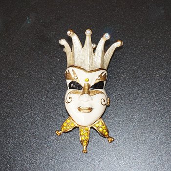 Clown Trinket Box - Costume Jewelry