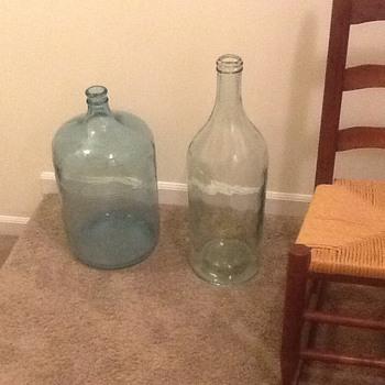 Old bottles tall - Bottles