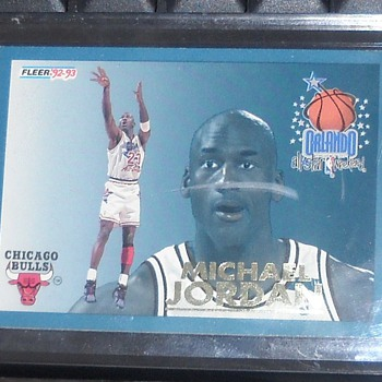 Michael Jordan 92-93 Fleer All-Star