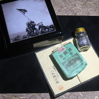 World War II Relics . . . Battle of Iwo Jima