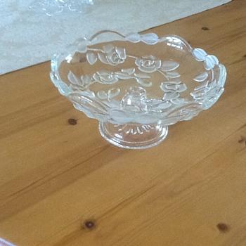 Sweet bowl - Glassware