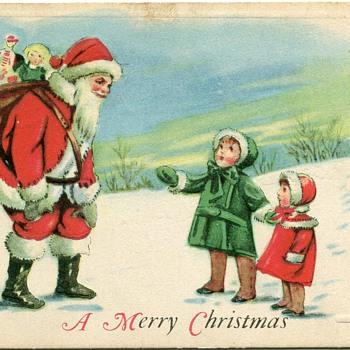 Vintage Christmas Postcards - Postcards